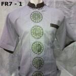 Baju Koko Lengan Pendek Abu-Abu