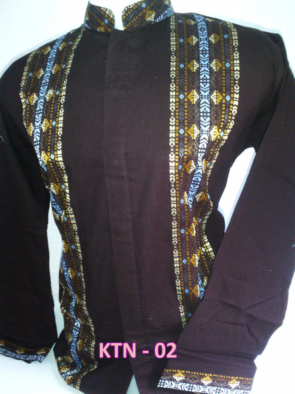 Baju Koko Model Terbaru Lengan Panjang