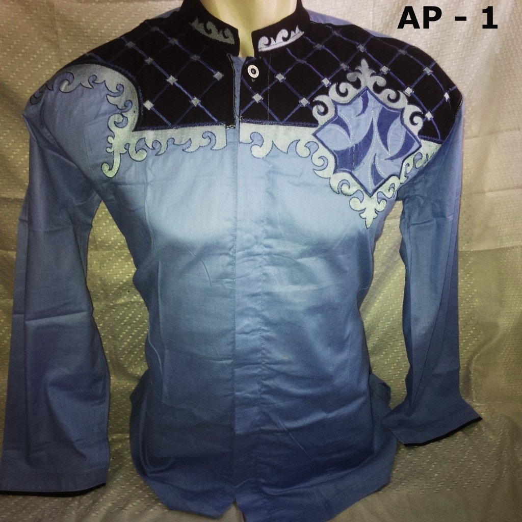 Harga Jual Baju Koko Lengan Pendek Pria 10 14 119000 Modern Panjang