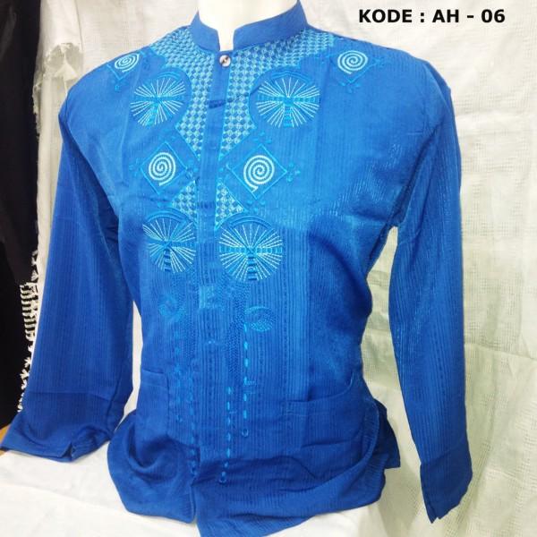 baju koko biru