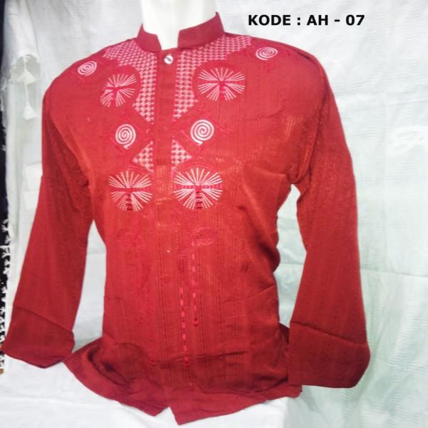baju koko warna merah
