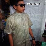 Baju Koko Pria Lengan Pendek Terbaru