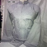 Baju Koko Lengan Panjang Abu – Abu