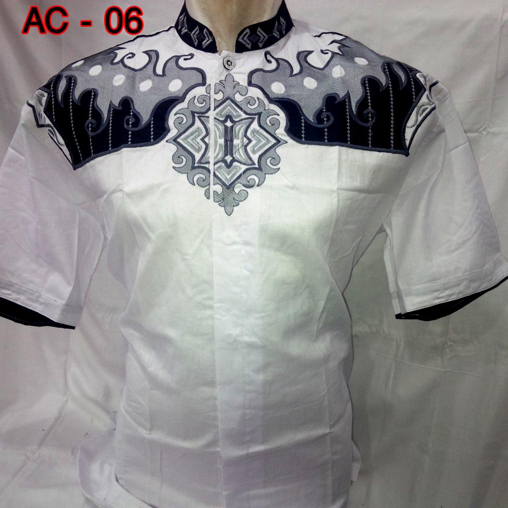Baju koko pria 2015 holidays oo Baju gamis putih murah