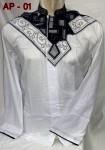 Baju Koko Putih Lengan Panjang Model 2015