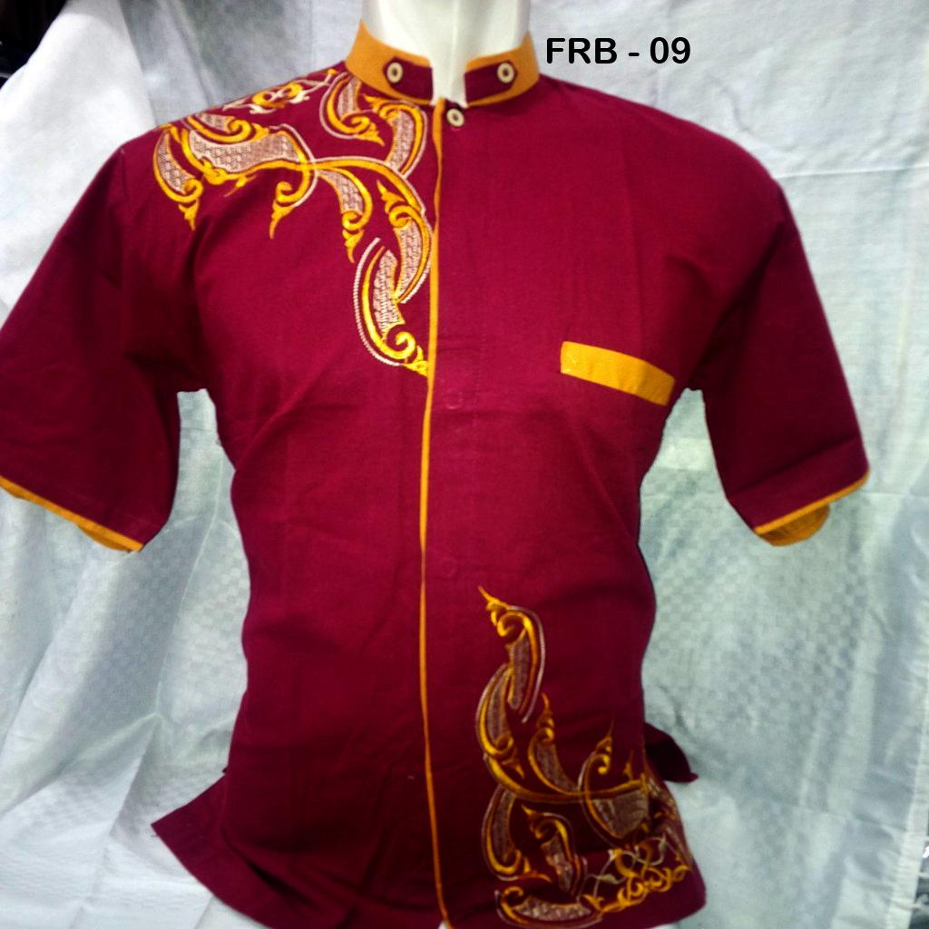 Gambar Model Batik Pria Terbaru: Model Baju Lengan Panjang