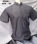 Baju Koko Lengan Pendek Bordir Terbaru