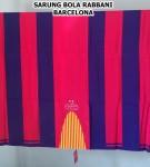 Sarung Bola Barcelona Blaugrana Rabbani