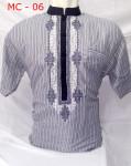 Baju Koko Bordir Simpel Bagus Lengan Pendek