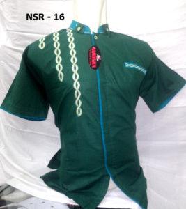 baju-koko-hijau-tosca-pendek-murah