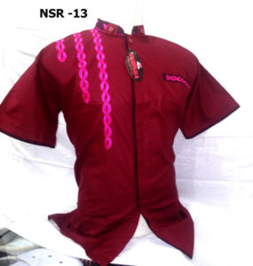baju-koko-merah-pendek-murah