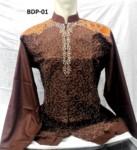 8 Warna Baju Koko Biladi Lengan Panjang Bordir Terbaru 2017