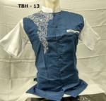 9 Warna Model Baju Koko Lengan Pendek Terbaru 2017