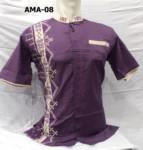 12 Warna Baju Koko Al Madani Lengan Pendek Model Terbaru 2017