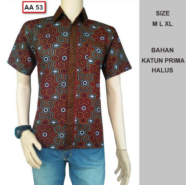 Potongan Baju Batik Pria: Koleksi Gambar Baju Batik Pria Model Terbaru Tahun Ini