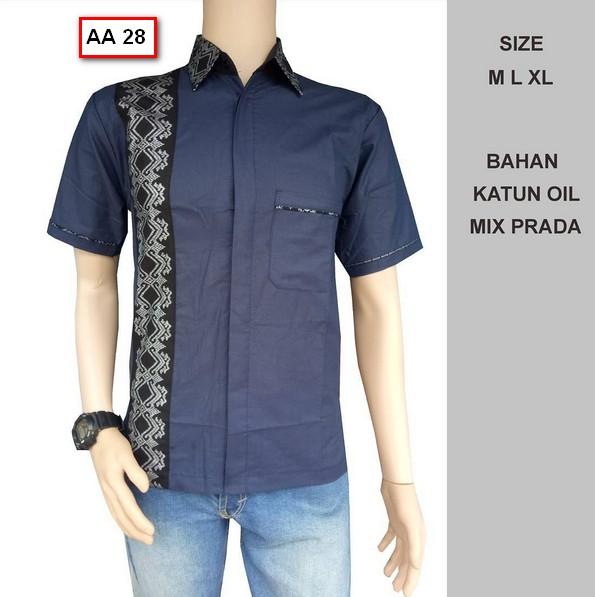 Gambar Model Batik Pria Terbaru: 40 Foto Model Kemeja Baju Batik Pria Lengan Pendek Terbaru