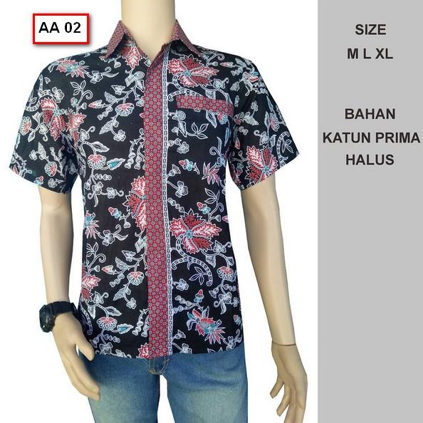 Grosir Baju Batik Pria: 40 Foto Model Kemeja Baju Batik Pria Lengan Pendek Terbaru