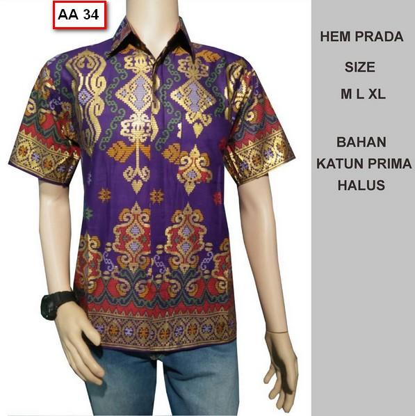 Koleksi Gambar Baju Batik Pria Model Terbaru Tahun Ini ... d3922ca12f