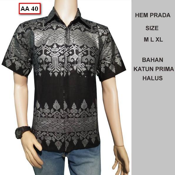 Potongan Baju Batik Pria: 40 Foto Model Kemeja Baju Batik Pria Lengan Pendek Terbaru