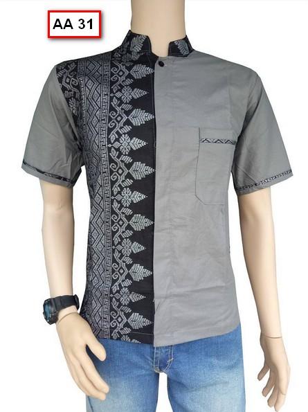 Koleksi Gambar Baju Batik Pria Model Terbaru Tahun Ini