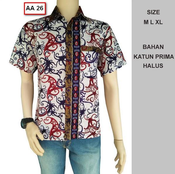 Gambar Baju Batik Kantor Pria: Koleksi Gambar Baju Batik Pria Model Terbaru Tahun Ini