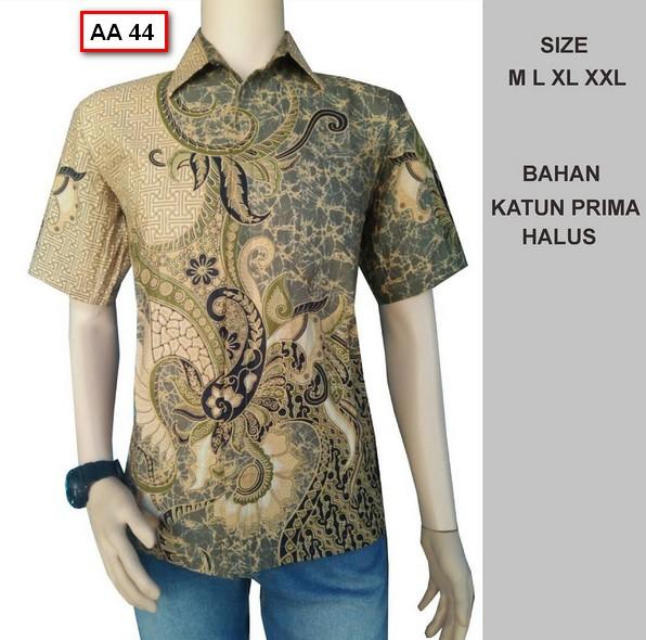 Gambar Model Batik Pria Terbaru: Koleksi Gambar Baju Batik Pria Model Terbaru Tahun Ini