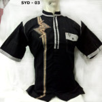 Baju Koko Merk Syahdika Model Terbaru 2018 Lengan Pendek Murah