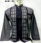 Gambar Baju Muslim Pria Baju Koko Lengan Panjang Model 2018 Terbaru Keren