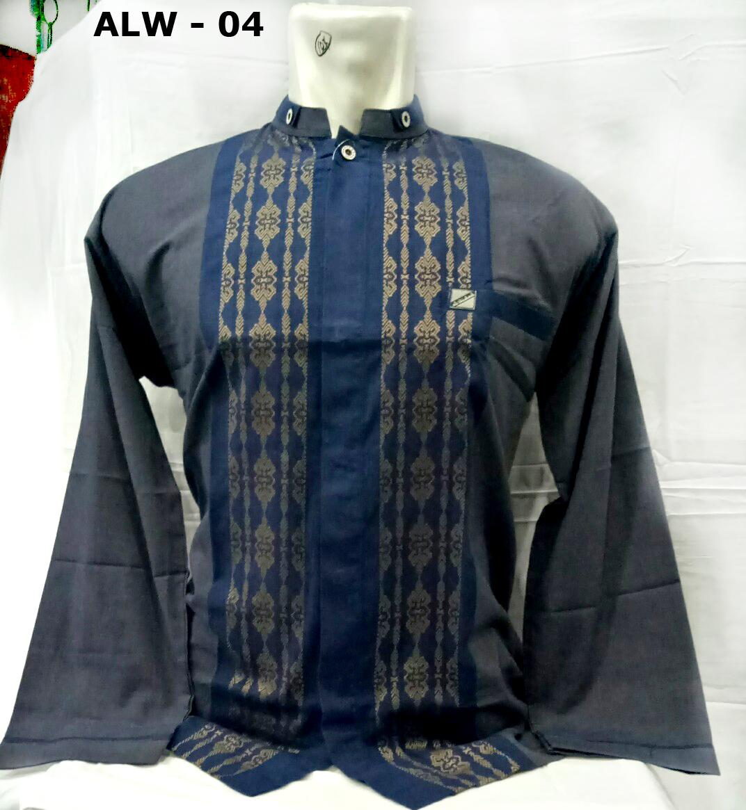 Gambar Baju Muslim Pria Baju Koko Lengan Panjang Model