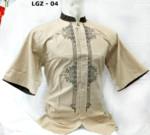 8 Gambar Baju Koko Model Terbaru 2018 Lengan Pendek