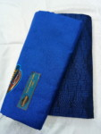 Sarung Warna Biru Polos Tumpal Merk Sapphire
